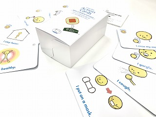 Kiitos Action Cards -New Normal Version-の表現集について